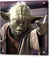 Star Wars On Art Acrylic Print