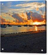 22- Sunset At Seagull Beach Acrylic Print