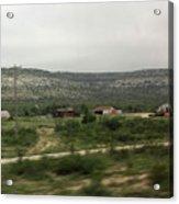 Texas Scenic Landscape Acrylic Print
