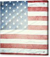 American Flag 37 Acrylic Print
