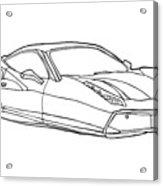 2208 Ferrari Enzo  Acrylic Print