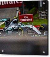 Formula 1 Monza Acrylic Print