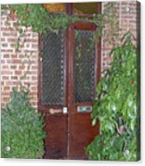 French Doors Acrylic Print