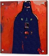 Star Wars At Art Acrylic Print