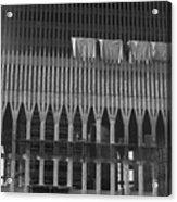 World Trade Center Under Construction 1967 Acrylic Print