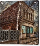 232 Simpson St. Texture Acrylic Print