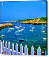 2381  Rock Harbor Acrylic Print