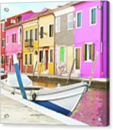 Burano Italy Acrylic Print
