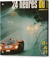 24 Hours Of Le Mans - 1971 Acrylic Print