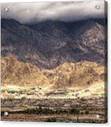 Landscape Of Ladakh Jammu And Kashmir India Acrylic Print