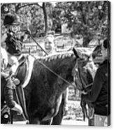 Manito Equestrian Center Benefit Horse Show Acrylic Print