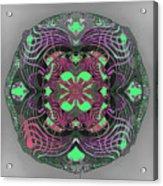 2451 Mandala A Acrylic Print