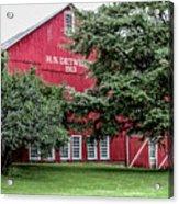 254 Salem Ohio_fa Acrylic Print