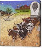 25th Anniversary Santa Fe Trail Association Acrylic Print