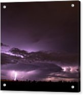 6th Storm Chase 2015 Acrylic Print