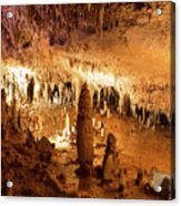Onondaga Cave Formations Acrylic Print