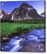 R F Landscape Acrylic Print