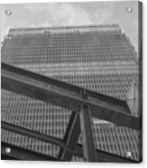 World Trade Center Under Construction 1967 Acrylic Print