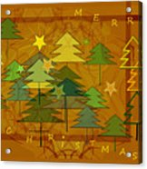 2607 Merry Christmas 2018 Acrylic Print