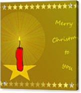 2610 Merry Christmas To You 2018 Acrylic Print