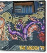 2635- Golden Triangle Acrylic Print