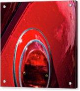 2665- Red Volkswagen  Acrylic Print