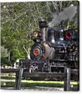 267 - Roaring Camp Train No 7 Hdr Acrylic Print