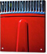 2674- Red Volkswagen  Acrylic Print