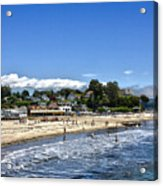 268 - Capitola Village 1hdr Acrylic Print