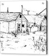 26th Street Fairbanks 1975 No.2 Acrylic Print