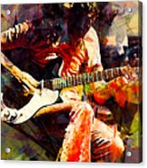 Jimmy Page. Led Zeppelin. Acrylic Print