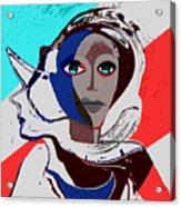 270 - Flashy Woman - Poster 2   Acrylic Print