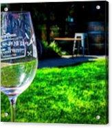 2719- Mauritson Wines Acrylic Print