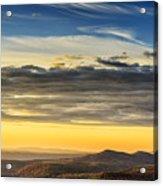 Allegheny Mountain Sunrise Acrylic Print