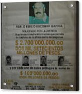 Bogota Museo Historico Policia Acrylic Print
