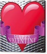 Valentines Acrylic Print
