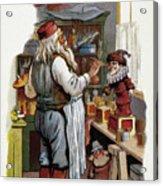 American Christmas Card Acrylic Print by Granger