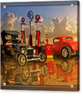 2at Pumps Acrylic Print