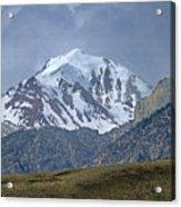 2d07508 High Peak In Lost River Range Acrylic Print