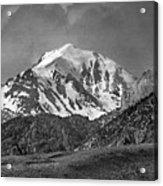 2d07508-bw High Peak In Lost River Range Acrylic Print