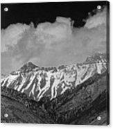 2d07509-bw High Peaks In Lost River Range Acrylic Print