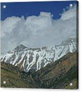 2d07509 High Peaks In Lost River Range Acrylic Print