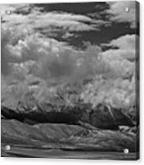 2d07517-bw Storm Over Lost River Range Acrylic Print