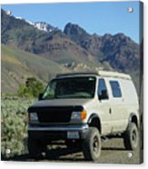 2da5944-dc Our Sportsmobile At Steens Mountain Acrylic Print