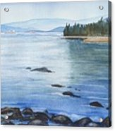 2nd Beach, Vancouver Acrylic Print