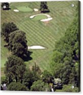 2nd Hole Philadelphia Cricket Club St Martins Golf Course Acrylic Print by Duncan Pearson