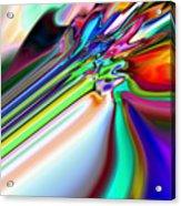 2x1 Abstract 317 Acrylic Print