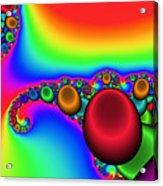2x1 Abstract 356 Acrylic Print