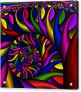 2x1 Abstract 427 Acrylic Print