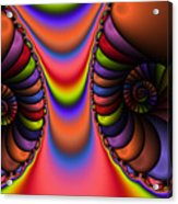 2x1 Abstract 439 Acrylic Print